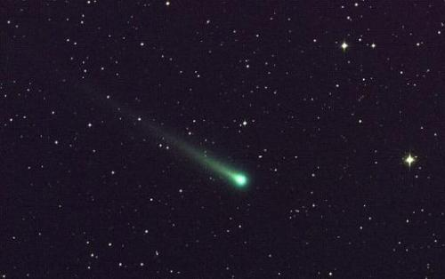 This NASA image obtained on November 27, 2013 shows Comet ISON, in a five-minute exposure taken at NASA's Marshall Space Flight