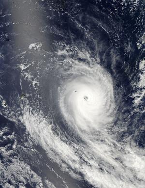 NASA sees Tropical Cyclone Amara spinning down