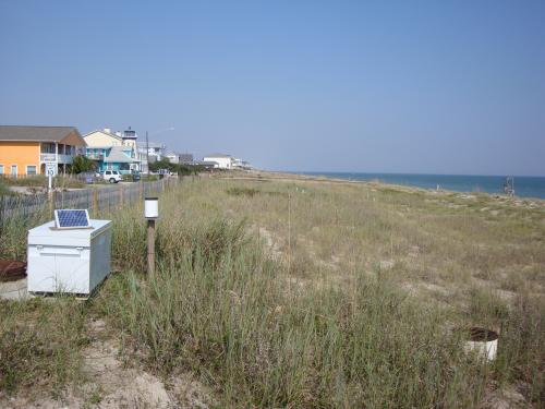 Researchers devise hidden dune filters to treat coastal stormwater runoff