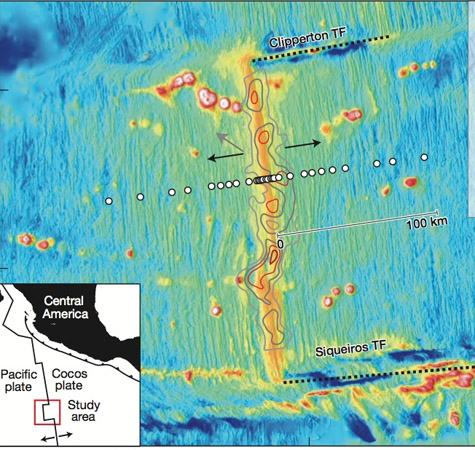 Researchers image deep magma beneath Pacific seafloor volcano