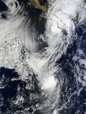 Tropical Storm Priscilla's short life