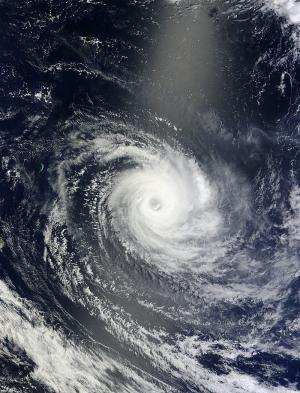 NASA satellites see Tropical Cyclone Amara affecting Rodrigues Island