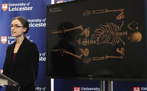 Experts find remains of England's King Richard III