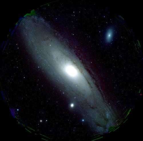 Image of M31 heralds the dawn of HSC's productivity