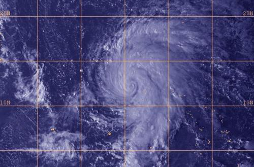 Tropical Storm Lekima born in northwestern Pacific Ocean
