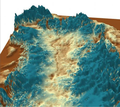 Mega-canyon discovered beneath Greenland ice sheet