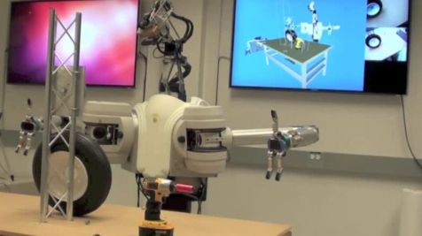 DARPA's two-armed robot handles tools at less cost