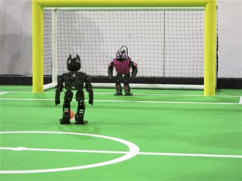 Move over Messi, here come the robots