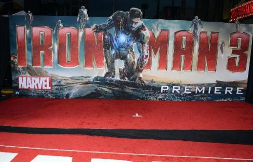 "A general view of the premiere of Walt Disney Pictures' ""Iron Man 3"" at the El Capitan Theatre on April 24, 2013 in Ho"