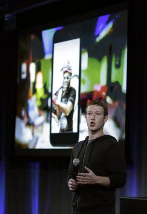 Facebook unveils 'Home' Android product