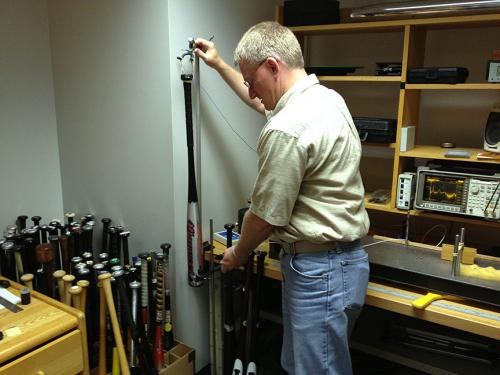 Acoustics engineer's work helps take the sting out of baseball bats