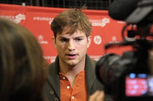Actor Ashton Kutcher attends the