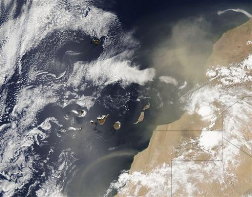 African dust clouds worry Caribbean scientists