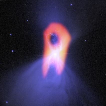 ALMA reveals ghostly shape of 'coldest place in the universe'