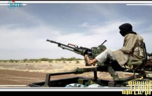 Al-Qaeda in the Islamic Maghreb (AQIM) fighters prepare for war in northern Mali, on January 9, 2013