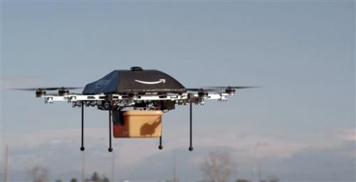 Amazon.com sees delivery drones as future