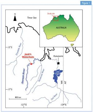 Ancient mega floods in the monsoon tropics of Australia coincide with climatic instability