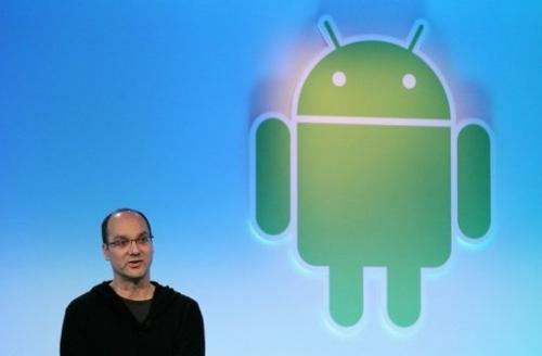 Andy Rubin speaks during a press event at Google headquarters on February 2, 2011 in Mountain View, California