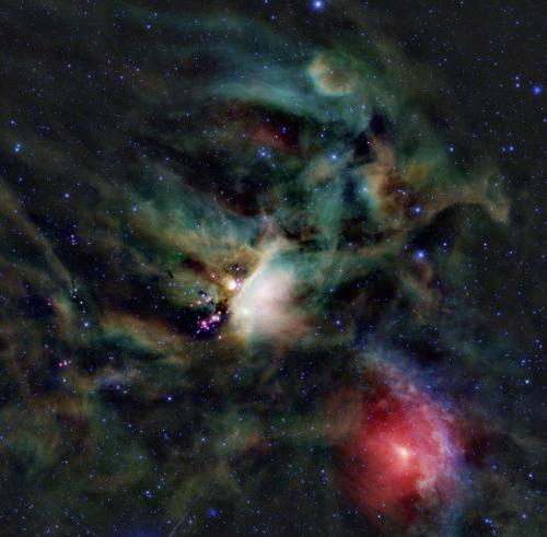 A new telescope probes a young protostar