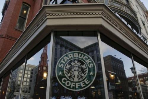 An exterior view of a Starbucks on December 27, 2012 in the Chinatown neighborhood of Washington, DC