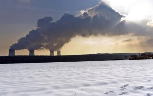 A nuclear power plant is seen in Cattenom, eastern France on January 31, 2012
