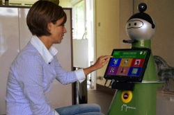 A personalised robot companion for older people