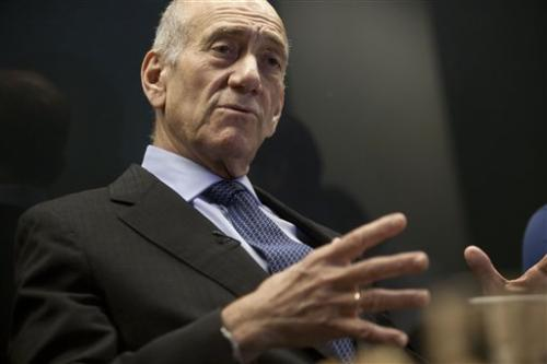 AP Interview: Israel's Olmert begins tech venture