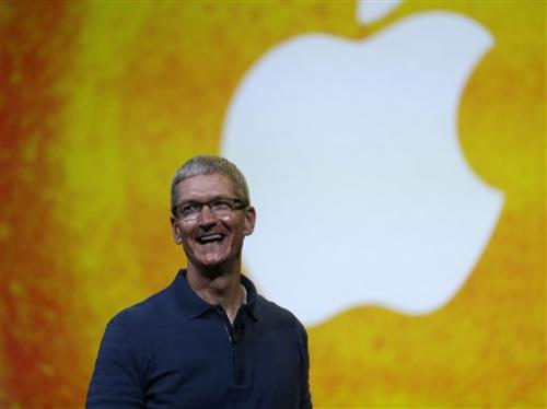 Apple CEO promises investors 'great stuff' to come