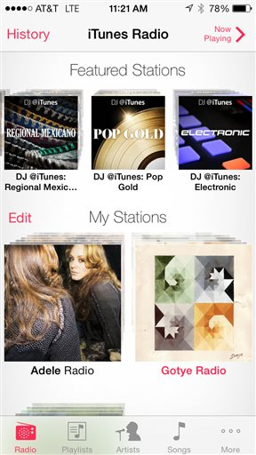 Apple exec hopes to get iTunes Radio international