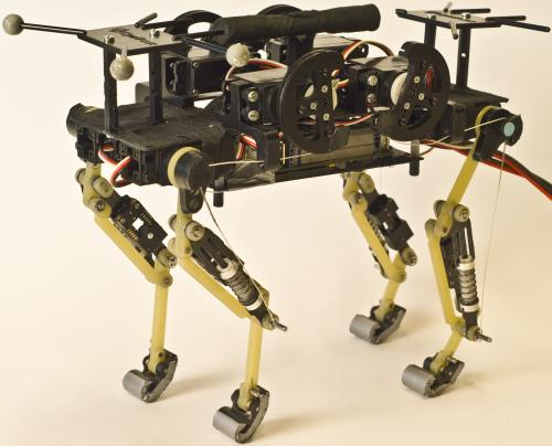 A robot that runs like a cat (w/ Video)