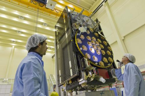 A testing time for Galileo satellites headed to space