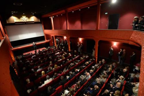 "A view of the world's oldest cinema theater ""L'Eden"" on October 9, 2013 in La Ciotat, southern France"