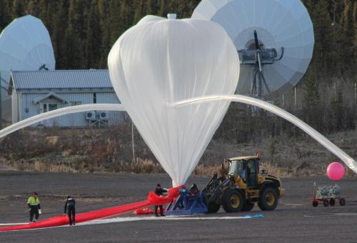 Strathclyde students launch experiment into stratosphere