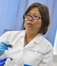 Bioengineer studying how to send drugs to lungs through nanotechnology