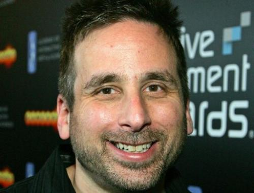 BioShock lead designer Ken Levine is pictured on February 7, 2008 in Las Vegas, Nevada