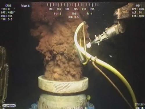 BP executive defends spill response tactics