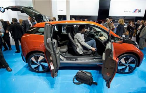 Carmakers upbeat at Frankfurt as market steadies