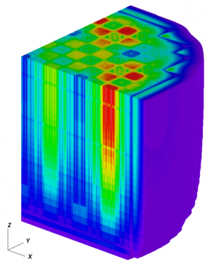 CASL milestone validates reactor model using TVA data