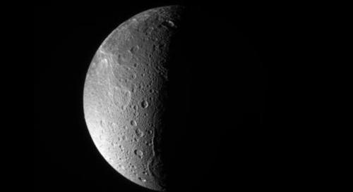 Cassini finds hints of activity at Saturn moon Dione
