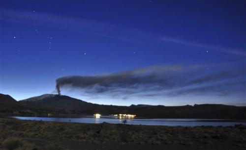 Chile issues red alert over Copahue volcano