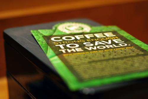 Coffee greenwashing works