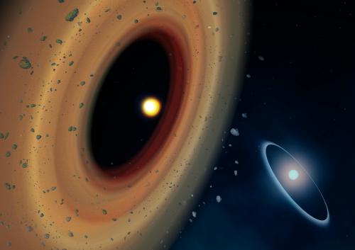 Companion's comets the key to curious exoplanet system?