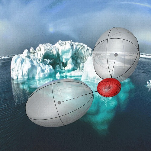 Scientists observe competing quantum effects on the kinetic energy of protons in water