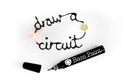 Conductive paint lands in pens and pots for creatives