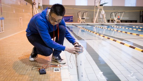 Could power generated from swimming laps create the next wave in sustainable energy?