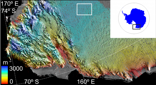CryoSat maps largest-ever flood beneath Antarctica