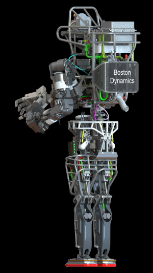 Darpa's atlas robot unveiled