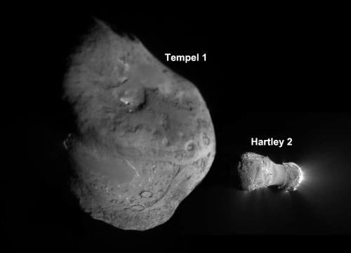 Deep Impact mission ends, leaves bright comet tale