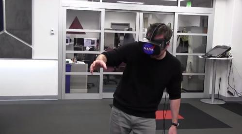 Kinect 2 with Oculus Rift gets NASA robotic arm workout