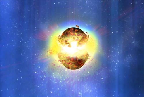 Did an 8th century gamma ray burst irradiate the Earth?